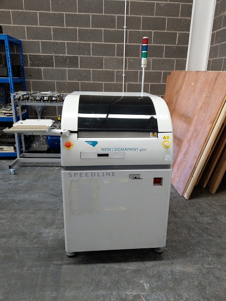 used smt screen printer from MPM used MPM 400 screen printer