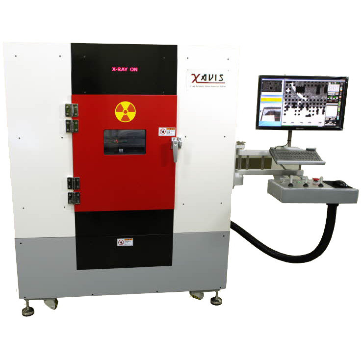 Xavis A Series 2D X-Ray Inspection Machine, sold and supported in UK by Elite 7 Installations Limited